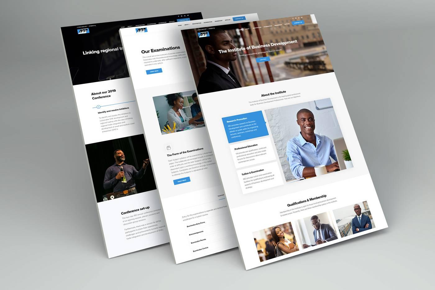 institute of business Development Website